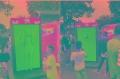 北京出租三维针雕科普展览道具出租天津租赁三维针雕价