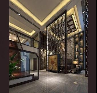 济南客厅古铜不锈钢屏风隔断-isa亚钢