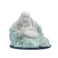 景德鎮陶瓷佛像雕塑彌勒佛擺件青花瓷器笑佛工藝品禮品