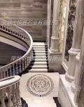 豪華別墅大理石階梯