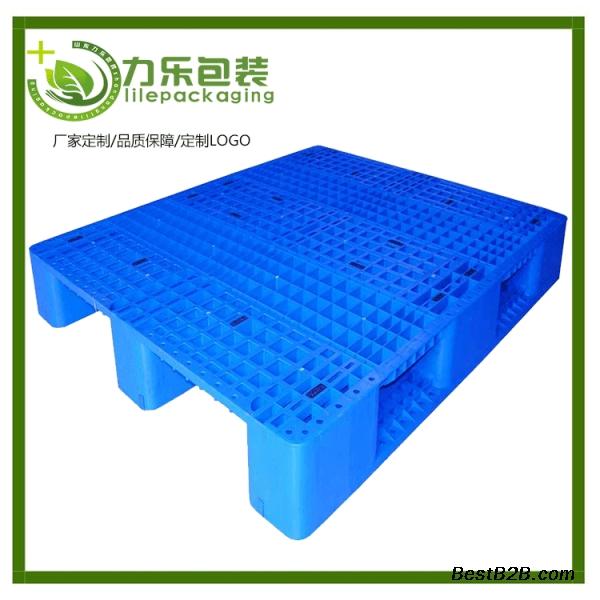 單面塑料托盤川字卡板 叉車塑膠地臺板 單面塑料托盤