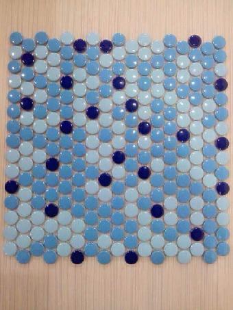 陶瓷小家庭装饰泳池别墅马赛克-马赛圆形佛山出售二手房凤阳陶瓷图片