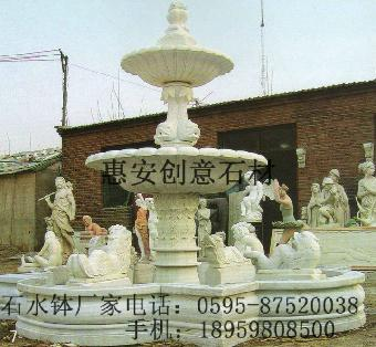 它可雕塑成各式特色水钵:欧式水钵,现代水钵,古典水钵,圆形水钵,半