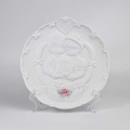 歐式外貿出口商業作品陶瓷紀念盤家居擺掛精致禮品盤子
