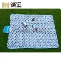 加工 折疊口袋毯可定制顏色野餐墊沙灘席野營地墊