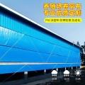 广东猪场卷帘意彩注册设备 鸡舍牛舍通用防水防卷帘布 透光防