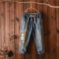 10元以下小脚韩版牛仔裤尾货工厂在广东哪个牛仔裤