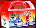 定制精美白卡紙圣誕小禮盒禮品盒卡片紙盒印刷LOGO