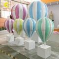 商場櫥窗陳列戶外景觀展示仿真玻璃鋼熱氣球