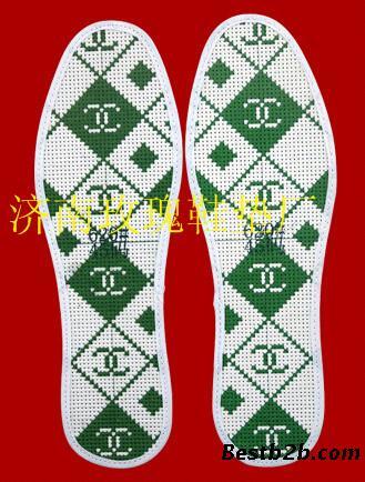 鞋垫花样图案大全十字绣手工批发厂家市场代理厂鞋垫