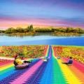 新款式彩虹滑道产品供应