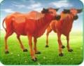 石家莊快樂時光批發兒童玻璃鋼老黃牛