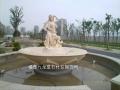 噴泉水景廠家 歐式石雕噴泉定制