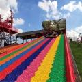 度假山莊游樂設備彩虹滑梯