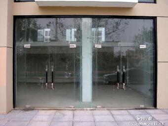 北京安装不锈钢包框玻璃门
