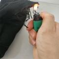 廠家供預氧化纖維梭織布 耐熱阻燃布 黑色耐火機織布