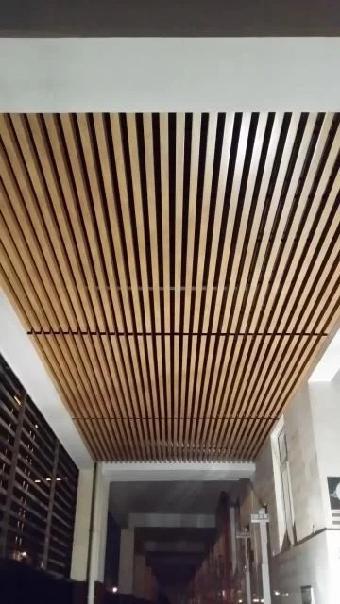 生态木厂家生产线小长城板
