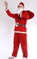 成都租赁圣诞节老人服装节日晚会服装