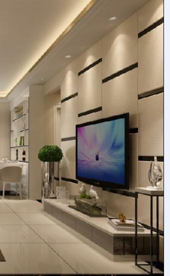 硬包电视背景墙,电视装饰背景墙