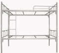 河南學生高低床 雙層鐵架床,實木公寓床定做
