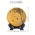陶瓷看盤展示盤子 畢業合影留念陶瓷紀念盤 可定制