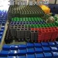 農村街道社區環衛塑料垃圾桶 四色分類垃圾桶