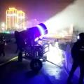 輪式造雪機 山東金耀造雪機廠家 造雪機專用水管