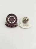 天津哪有公司胸章订做专业金属个性徽章订做厂家