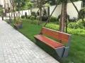 成都不锈钢户外长椅公园座椅商场休息椅定制