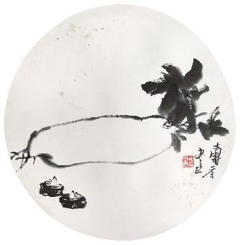 潘天寿诗意小品30幅