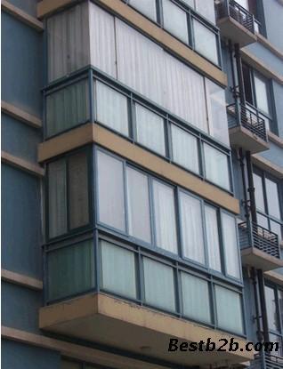 合肥封阳台阳光房玻璃窗专业门窗公司