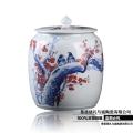 密封10斤裝大號茶葉缸 復古日式米桶 米缸