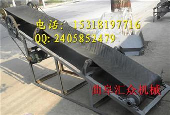粮食装车输送机 折叠式输送机定做厂家 运输机图片