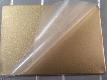 钛金喷砂不锈钢