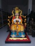玉皇大帝三清像 東極大帝道教雕塑 大型老天爺神像