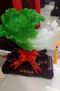 西安开业玉白菜桌摆件工艺品