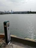 南通海寧碼頭交流岸電樁低壓單相智能岸電供電樁