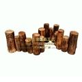 防腐木桩围栏 碳化实木护栏园林装饰道具 家居庭院园
