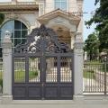 錫林郭勒盟圍墻大門紅銅色樓梯實力雄厚