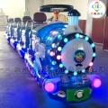 一托三無軌兒童電動小火車造型可愛