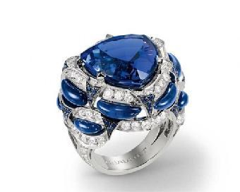杭州深海蓝宝石原石的拍卖价值