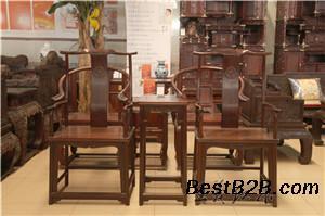 国家高级工艺美术师古典红木太师椅 新款太师椅