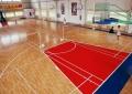 實木地板籃球館羽毛球館運動木地板