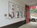 全新三喷头HC-T5墙体彩绘机喷绘机广告壁画打印机