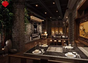 合肥饭店装修风格 新中式餐厅装修设计抢先体验