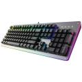 供应壁虎忍者GK6A铝合金防水有线RGB背光键盘