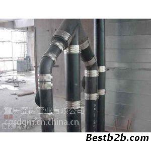 铸铁排水管是我国常用的连接方式