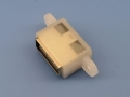 AB型防水母座 4P 短体USB 2.0 带双耳定