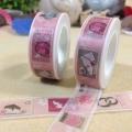 廠家專業定制異形膠帶花瓣膠帶金蔥膠帶手帳膠帶制作純