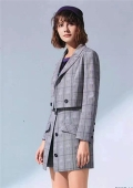 杭州大牌女裝寵愛女人連衣裙風衣品牌折扣女裝庫存尾貨